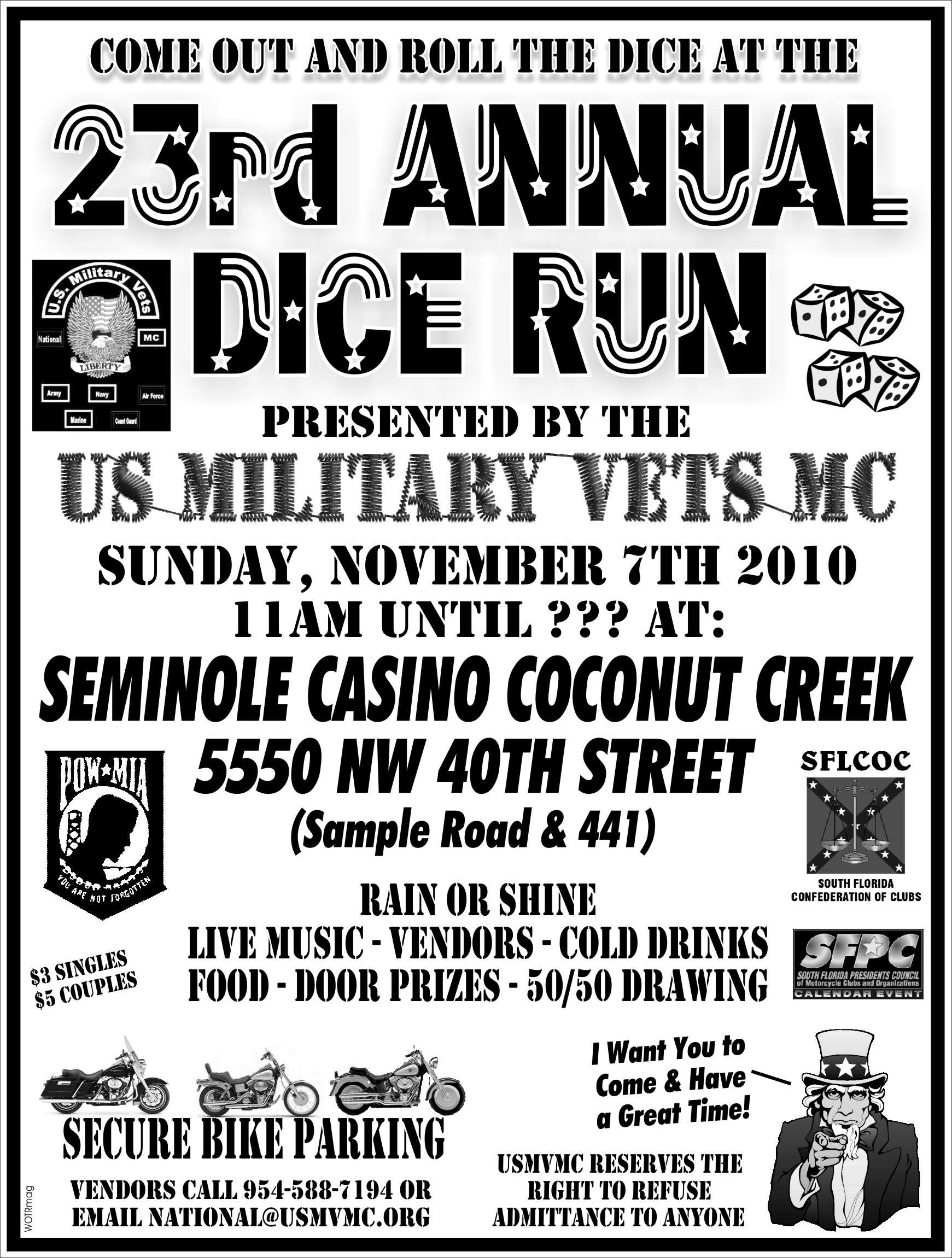 Past Events - US Military Vets Motorcycle Club